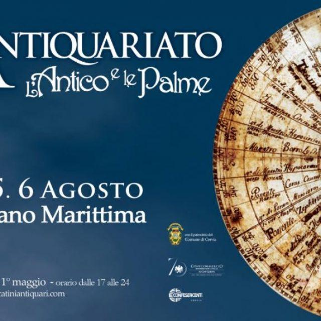 Mostra d'antiquariato L'Antico e le Palme a Milano Marittima